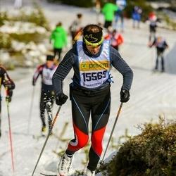 Skiing 90 km - Hermann Müller (15569)