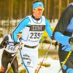 Skiing 90 km - Christian Wiig Bøen (2391)