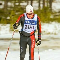 Skiing 90 km - Christian Lundin (2151)