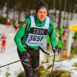 Skiing 90 km - Henrik Elmefur (3658)