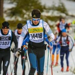 Skiing 90 km - Björn Andersson (14418)