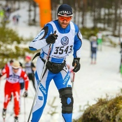 Skiing 90 km - Andrea Cautiero (3543)