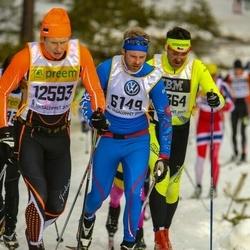 Skiing 90 km - Anders Roos (6149), Janno Kaljuvee (12593)
