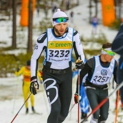 Skiing 90 km - Christian Elsebutangen (3232)