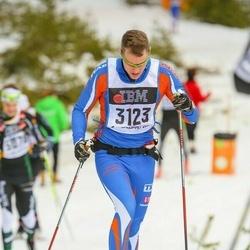 Skiing 90 km - Alexander Sjögren (3123)