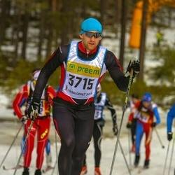 Skiing 90 km - Adrian Hörnqvist (3715)