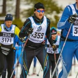 Skiing 90 km - Henrik Karlborg (4359)
