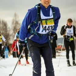 Skiing 90 km - Daniel Klemetz (14410)