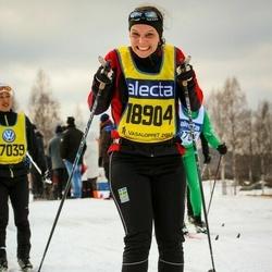 Skiing 90 km - Johanna Lind (18904)