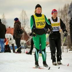 Skiing 90 km - Daniel Strandell (11596), Nina Svensson (17557)