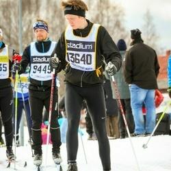 Skiing 90 km - Henrik Larsson (13640)