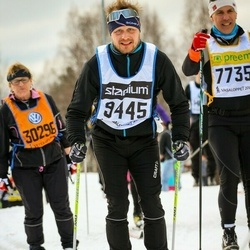 Skiing 90 km - Henrik B Wällersten (9445)