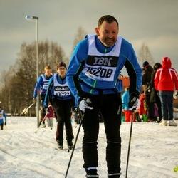 Skiing 90 km - Casper Cleeman (15208)
