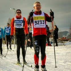 Skiing 90 km - Anders Widelius (9233), Ove Opseth (11995)