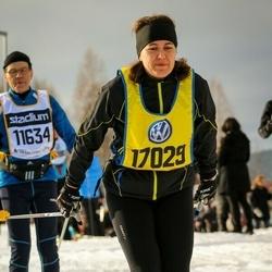 Skiing 90 km - Agneta Myrestam (17029)