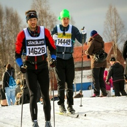 Skiing 90 km - Anders Hurtig (14449), Alexander Pettersson (14628)