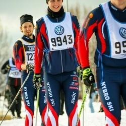 Skiing 90 km - Jens Bergquist (9943)