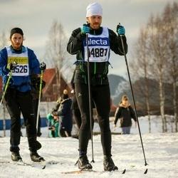 Skiing 90 km - Fredrik Syrén (14881)