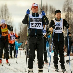 Skiing 90 km - David Eriksson (13083), Asbjörn Friis Jensen (15273)
