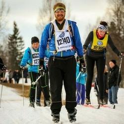 Skiing 90 km - Anders Jonsson (12140), Sara Johansson (18186)