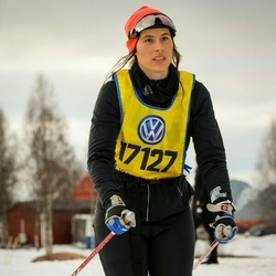 Skiing 90 km - Jannika Norlin (17127)