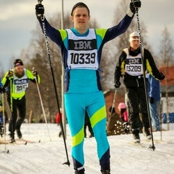 Skiing 90 km - Johan Wernefur (10339)