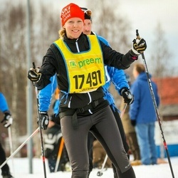 Skiing 90 km - Linda Gustafsson (17491)