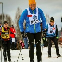 Skiing 90 km - Johan Alexandersson (9971)
