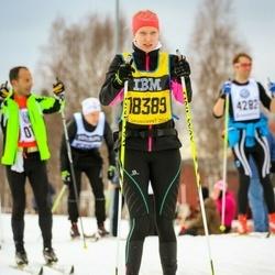 Skiing 90 km - Cecilia Borgman (18389)