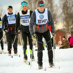 Skiing 90 km - Antti Härkönen (10142), Jonas Halvarsson (11823)