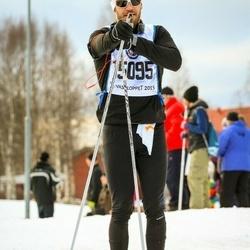 Skiing 90 km - Jamie Lindqvist (15095)