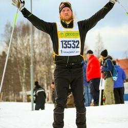 Skiing 90 km - Joakim Fagerström (13532)
