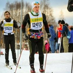 Skiing 90 km - Daniel Blomberg (12413)