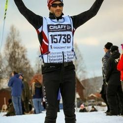 Skiing 90 km - Jakob Asferg (15738)