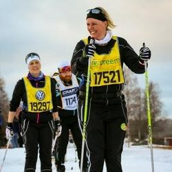Skiing 90 km - Sandra Brogren (17521)