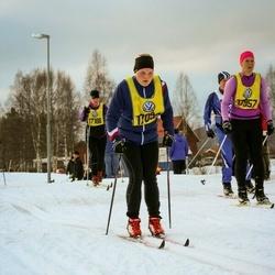 Skiing 90 km - Åsa Bolin (17057), Sandra Rundqvist (17098)