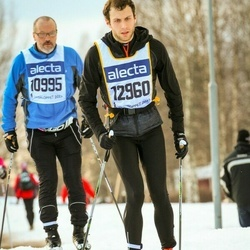 Skiing 90 km - Alexander Cowan-Sanluis (12960)
