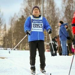 Skiing 90 km - Henrik Mårald (13953)