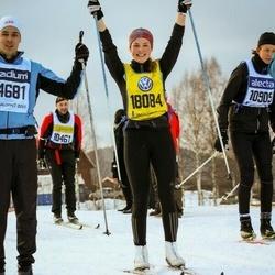 Skiing 90 km - Johanna Åkesson (18084)