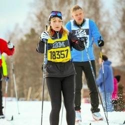 Skiing 90 km - Christina Forslund (18357)