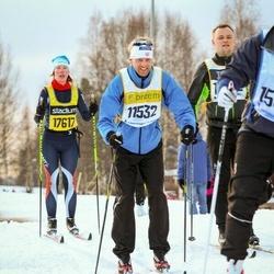 Skiing 90 km - De Jong (11532), Heidi Sund (17617)