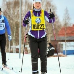 Skiing 90 km - Eva Stengard (18022)