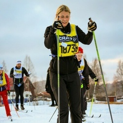 Skiing 90 km - Caroline Johansson (18738)