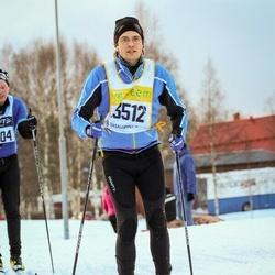 Skiing 90 km - David Kastlund (13512)