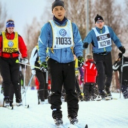 Skiing 90 km - Hiroatsu Sato (11033)