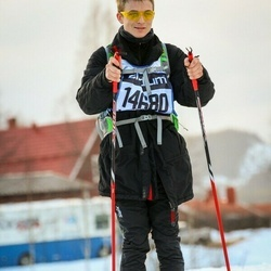 Skiing 90 km - Aleksander Moen (14680)