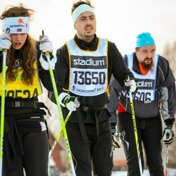 Skiing 90 km - Jens Björk (13650)