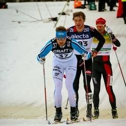 Skiing 90 km - Jimmie Johnsson (37), Axel Bergsten (293)