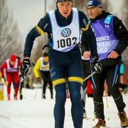 Skiing 90 km - David Jönsson (1002)