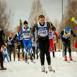 Skiing 90 km - David Fransson (2140)